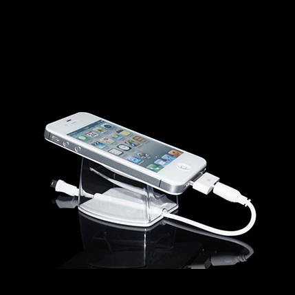 Acrylic Mobile Phone Security Display Holder For Retail Shop